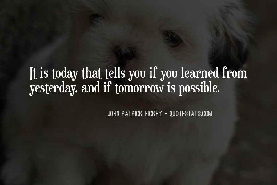 Quotes About Tomorrow #36098
