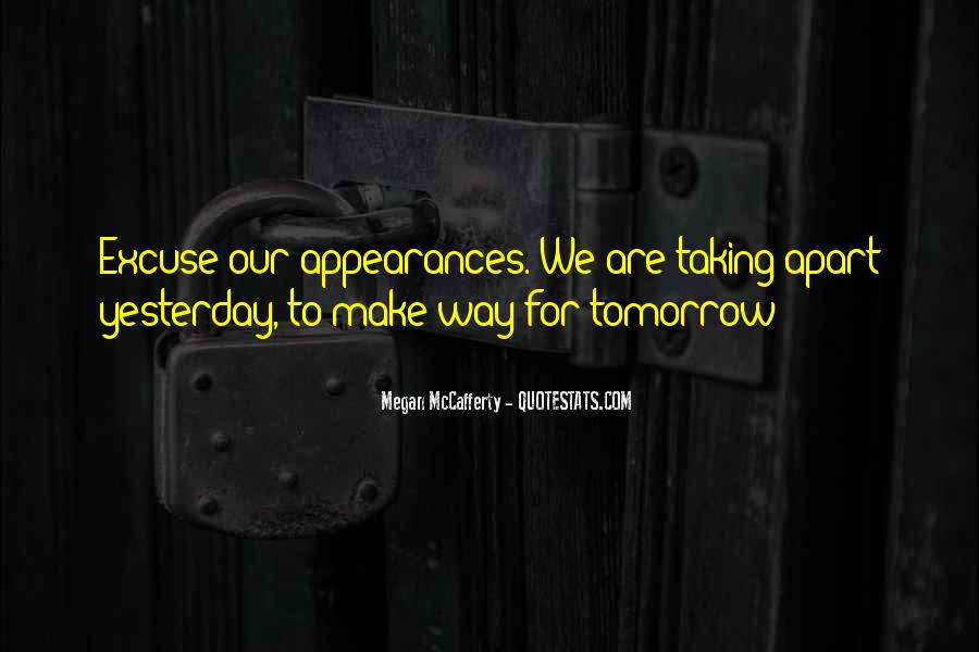 Quotes About Tomorrow #38581