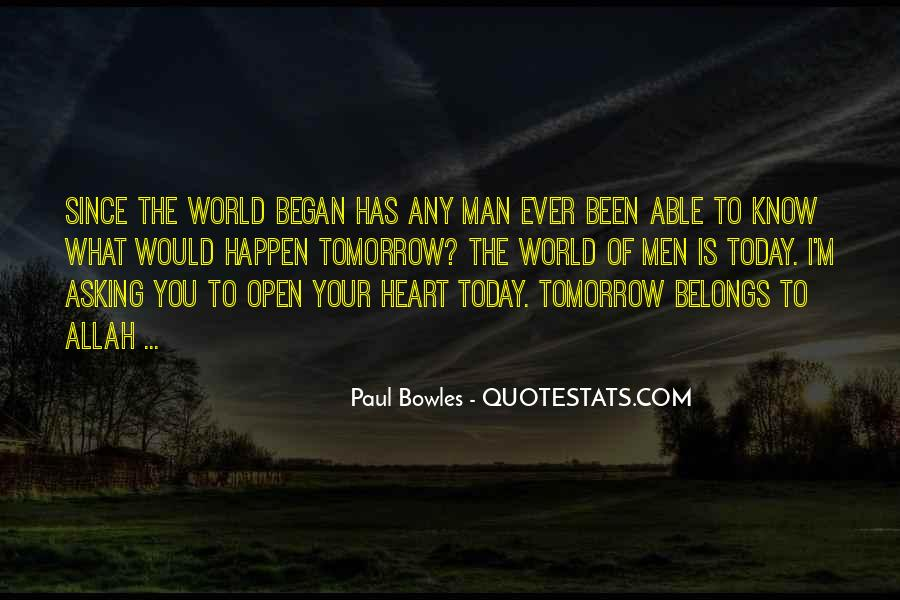 Quotes About Tomorrow #8593