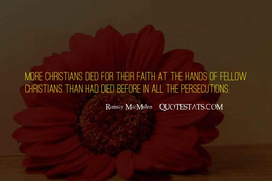 Quotes About Persecutions #1302047