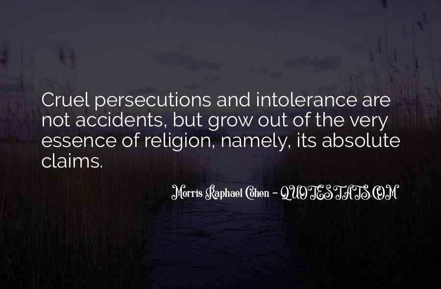 Quotes About Persecutions #495268