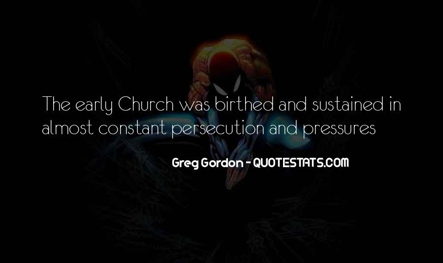 Quotes About Persecutions #536188