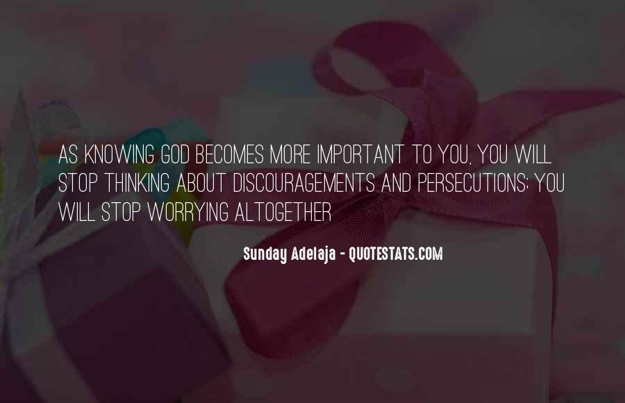 Quotes About Persecutions #555018