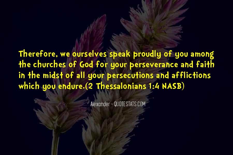 Quotes About Persecutions #665905