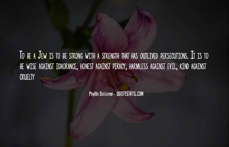 Quotes About Persecutions #820896