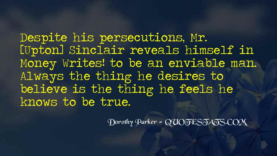 Quotes About Persecutions #916385