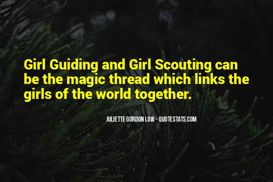 Quotes About Girl Scouting #60661