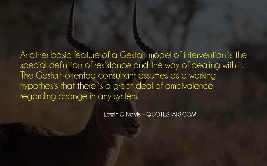 Quotes About Gestalt #606753