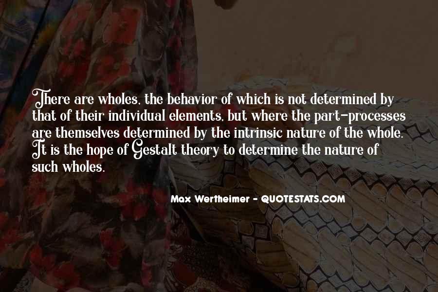 Quotes About Gestalt #710246
