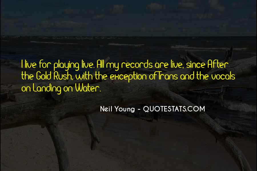 Quotes About Playing Records #398585