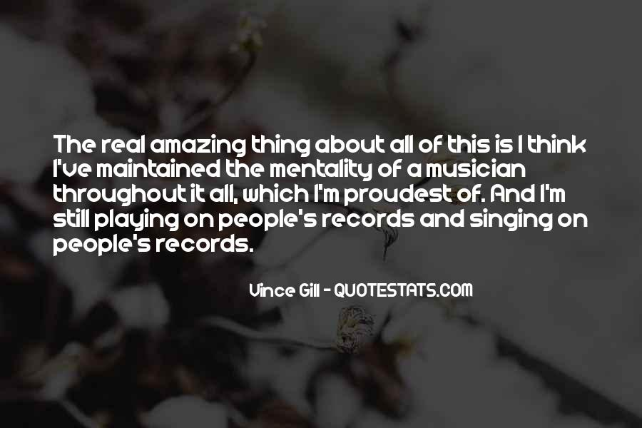 Quotes About Playing Records #893502