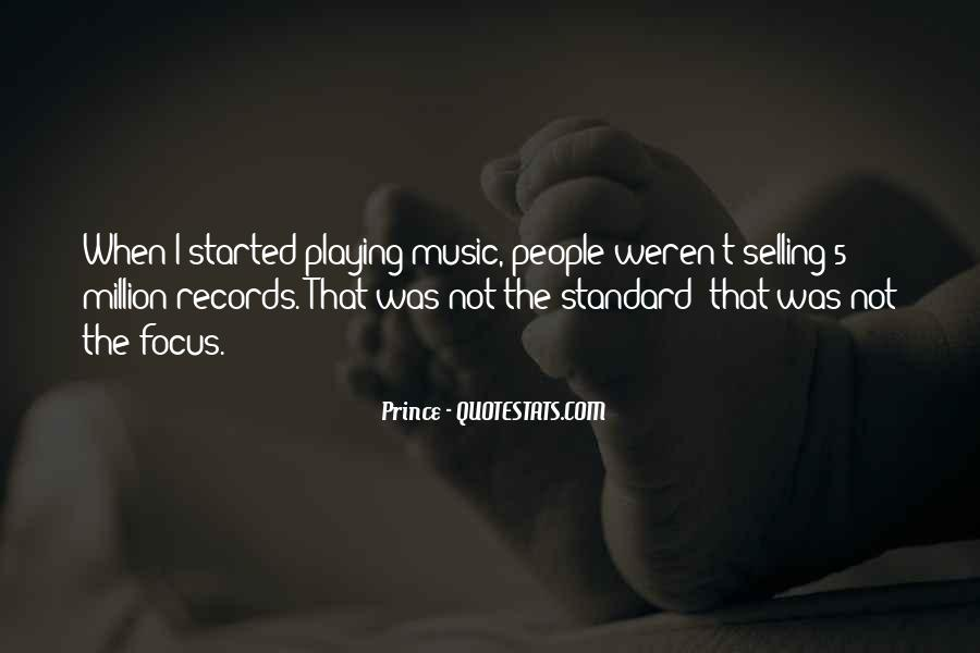 Quotes About Playing Records #943948