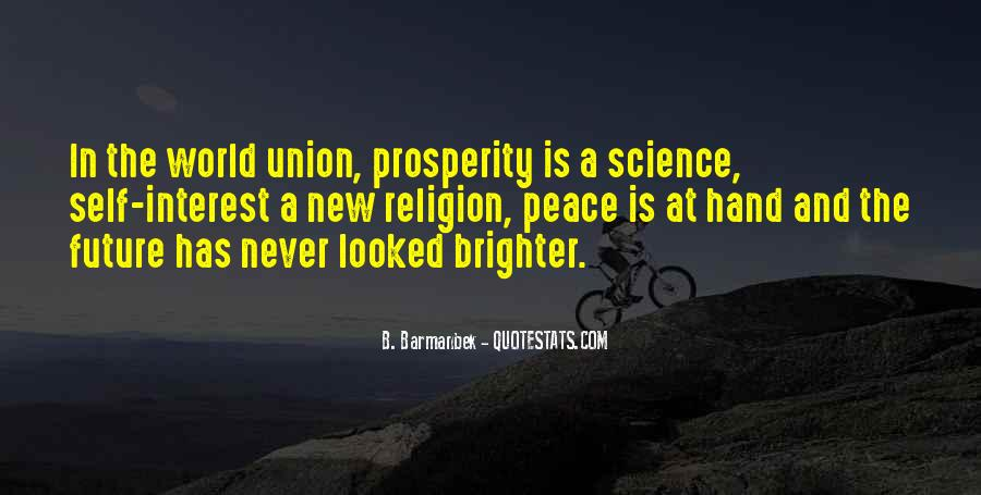 Quotes About Brighter Future #1446085
