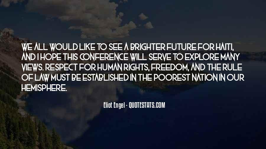 Quotes About Brighter Future #1640008