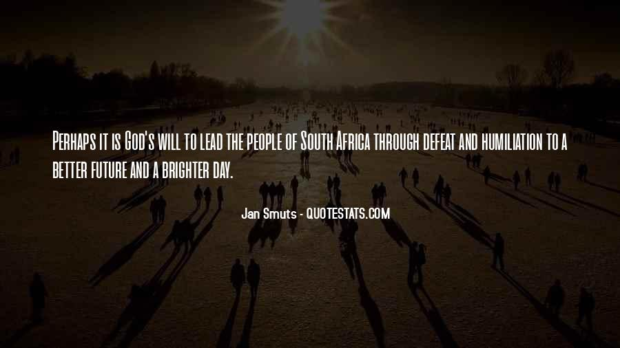 Quotes About Brighter Future #948346