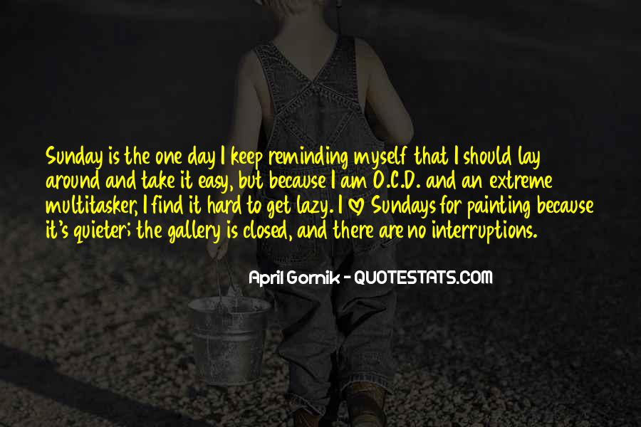 Quotes About Sundays Lazy #616313