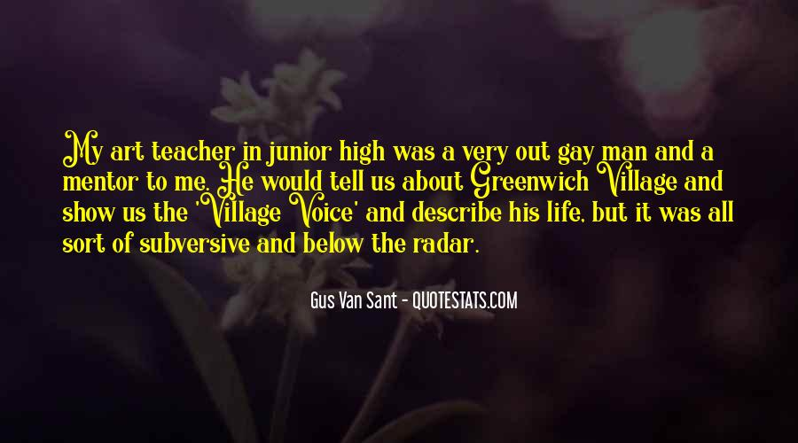 Quotes About A Village #104797