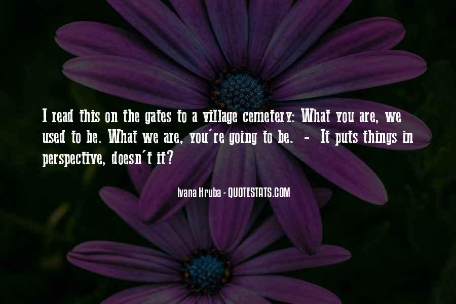 Quotes About A Village #121112