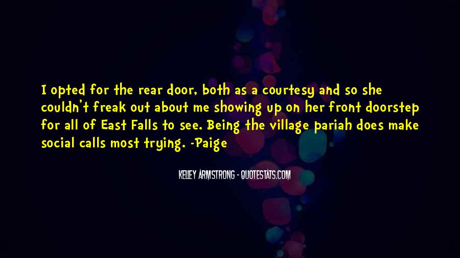 Quotes About A Village #141039