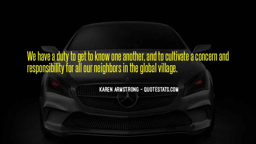 Quotes About A Village #149159