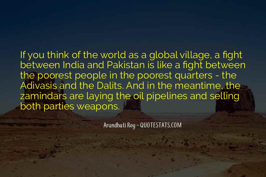 Quotes About A Village #190563