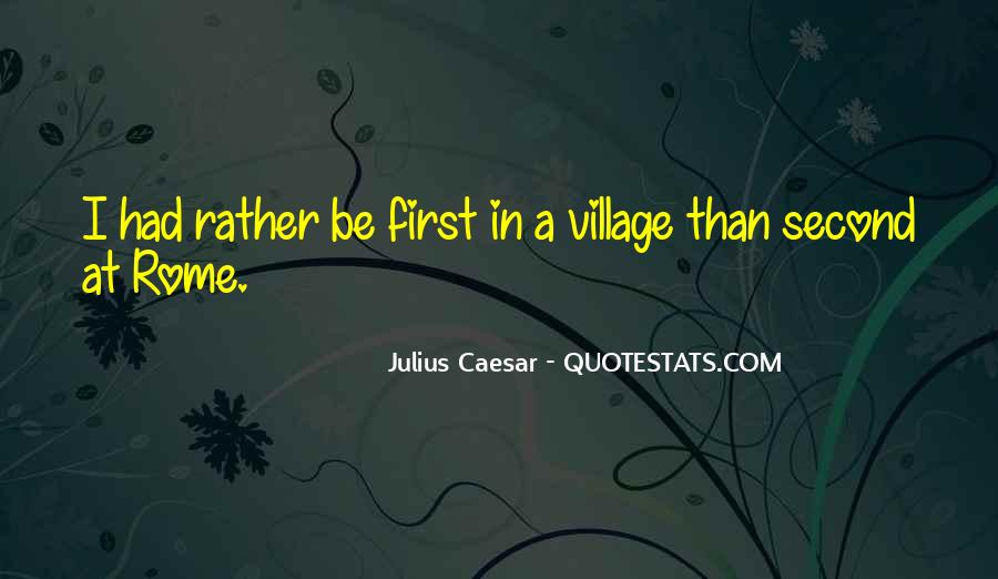 Quotes About A Village #19209