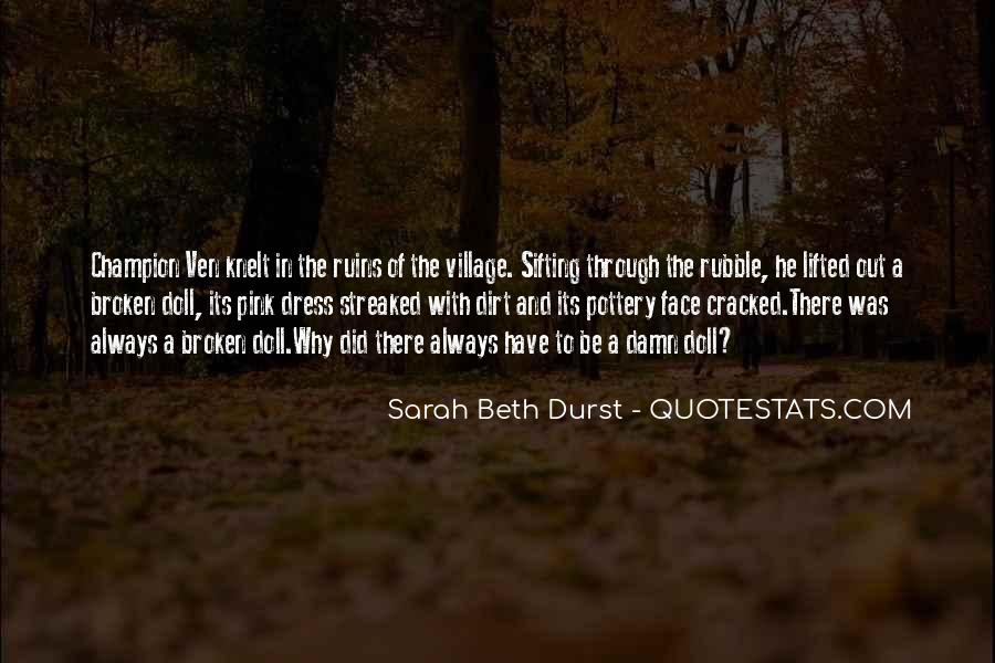Quotes About A Village #227410