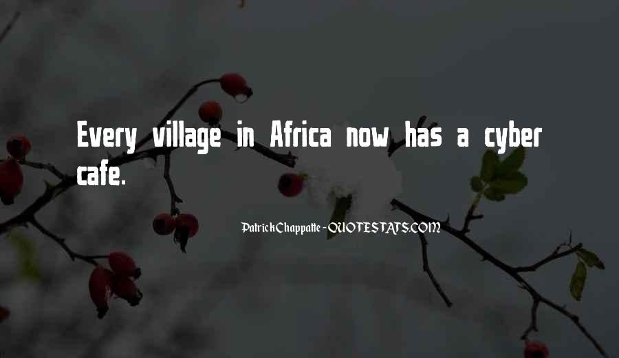 Quotes About A Village #234668