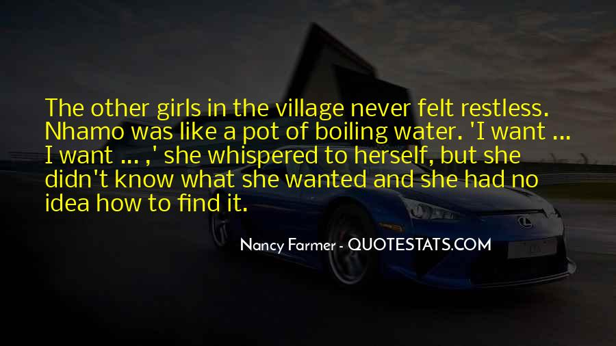 Quotes About A Village #2403