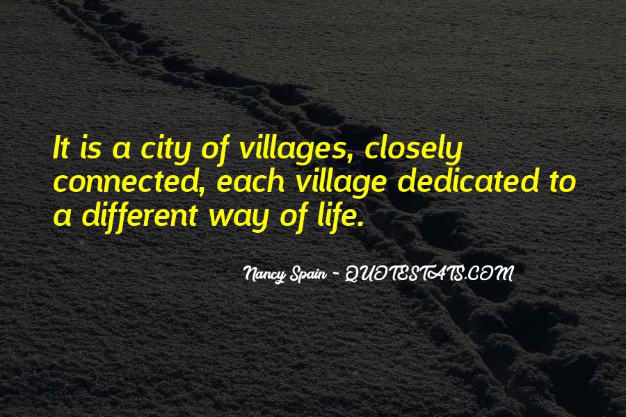 Quotes About A Village #32433