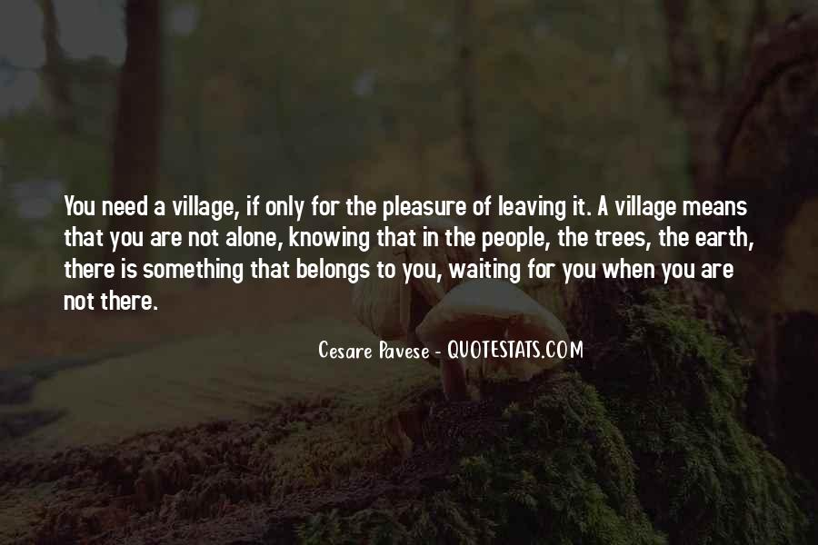 Quotes About A Village #36902