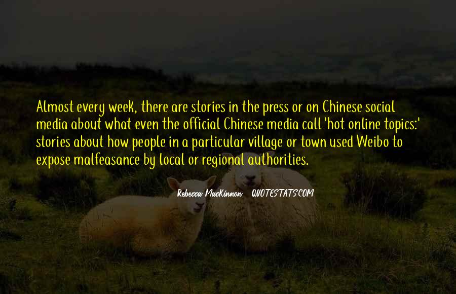 Quotes About A Village #50491