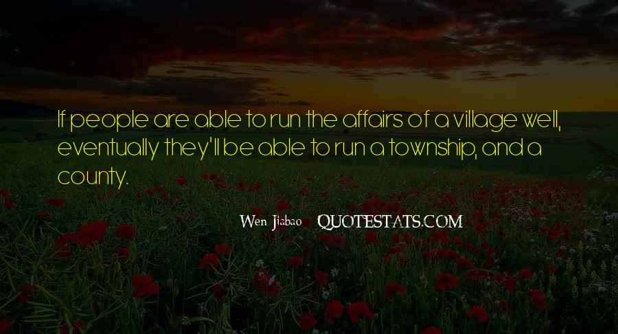 Quotes About A Village #52745