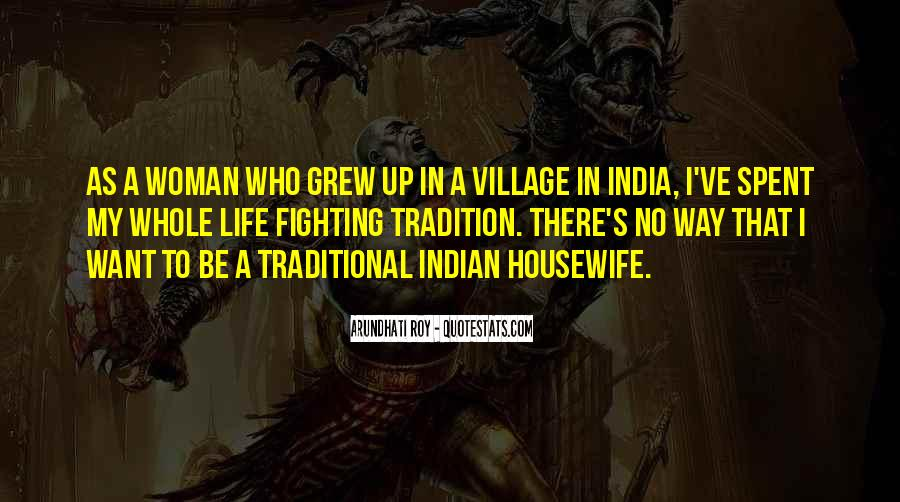 Quotes About A Village #91459