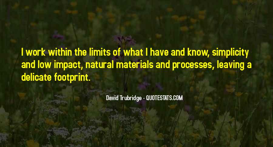 Quotes About Natural Materials #1045188