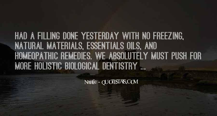 Quotes About Natural Materials #1197775