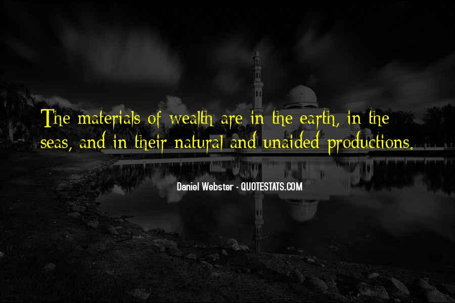 Quotes About Natural Materials #1771582