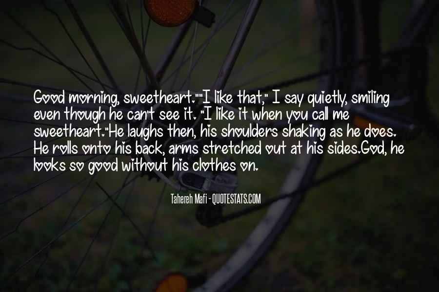 Quotes About Smiling Without You #143446