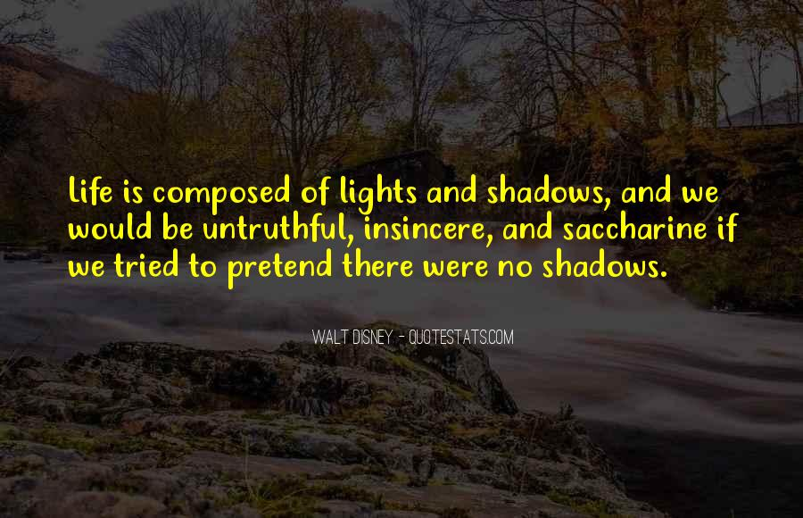 Quotes About Lights And Shadows #1073852
