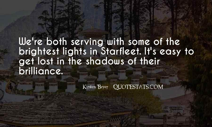Quotes About Lights And Shadows #1100865