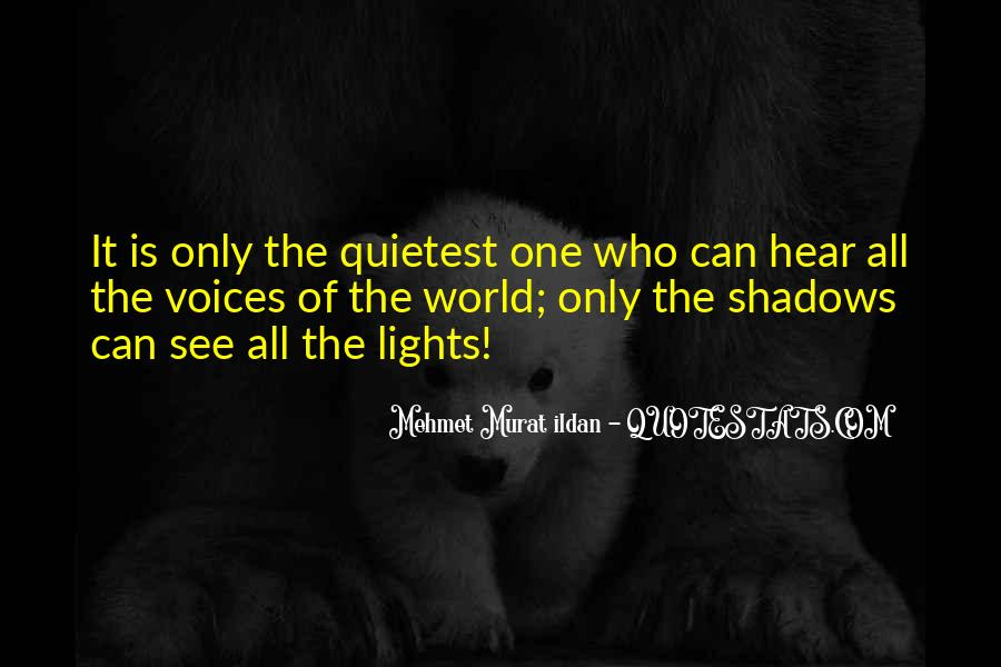Quotes About Lights And Shadows #986202