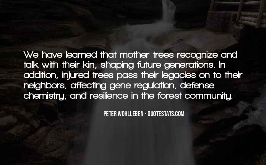 Quotes About Trees And Community #1254199