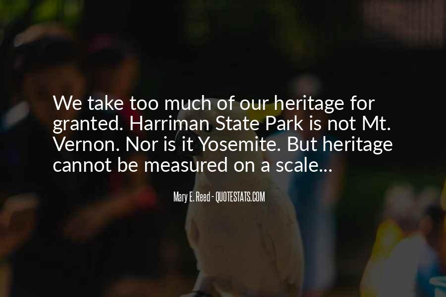 Quotes About Heritage Preservation #1535721