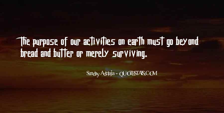Quotes About Activities #123182