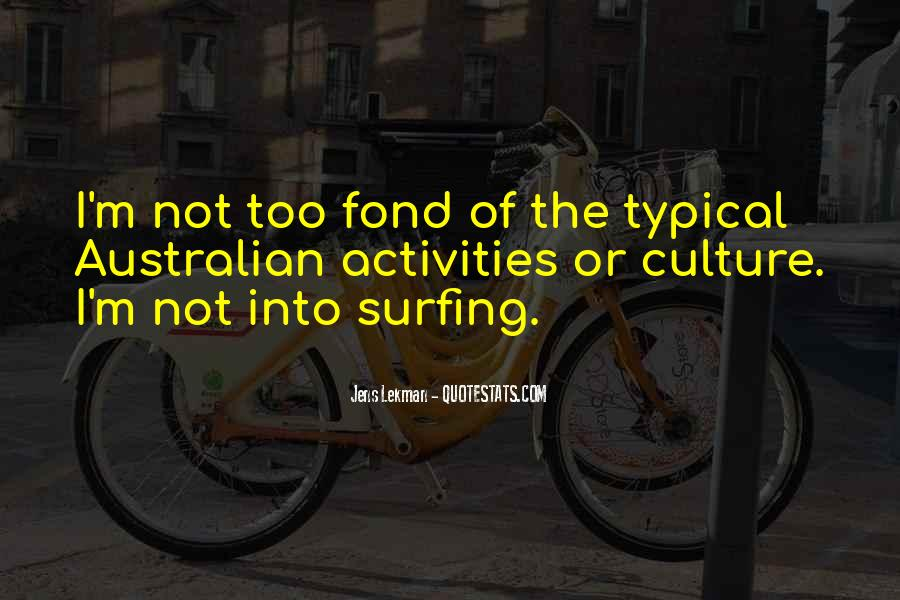 Quotes About Activities #129079