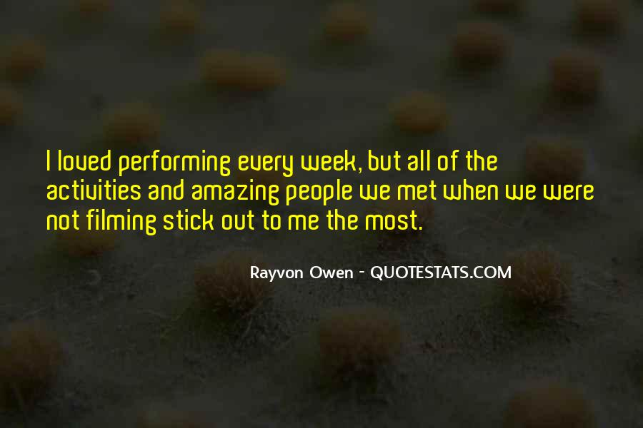Quotes About Activities #147343