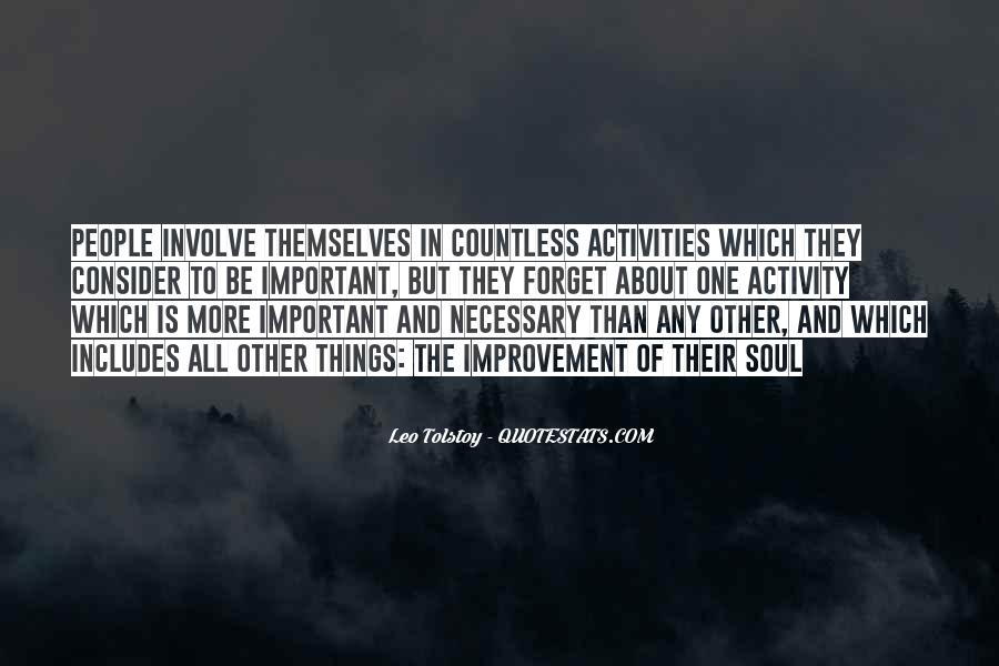 Quotes About Activities #41328