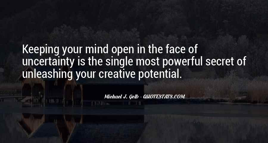 Quotes About Keeping An Open Mind #1309753
