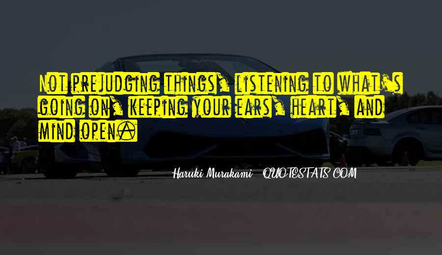 Quotes About Keeping An Open Mind #251944