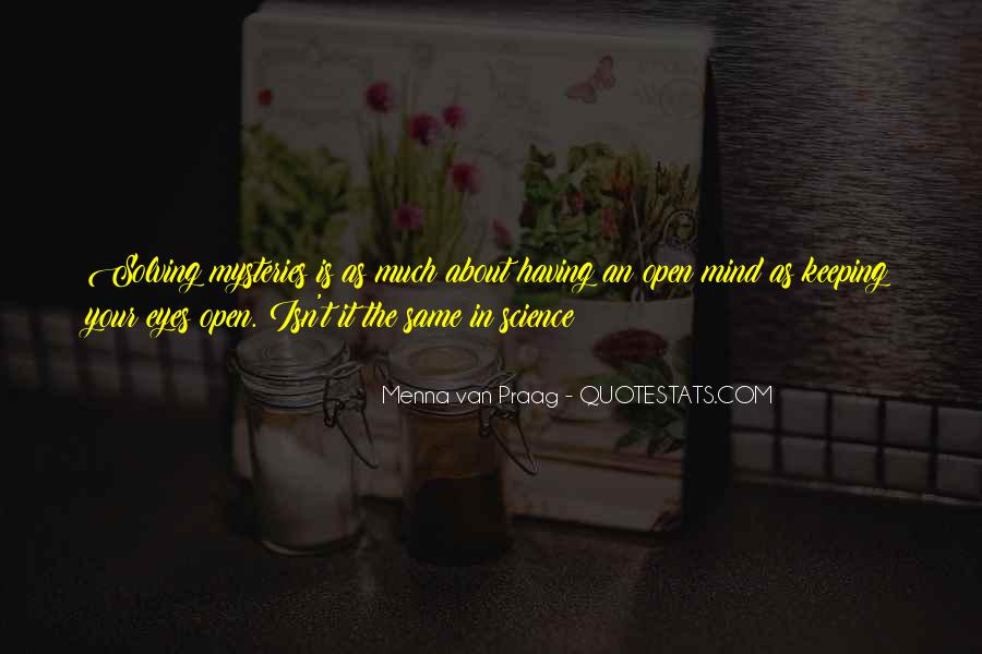 Quotes About Keeping An Open Mind #255540